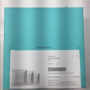 Tiffany&Co. Nesting Trays